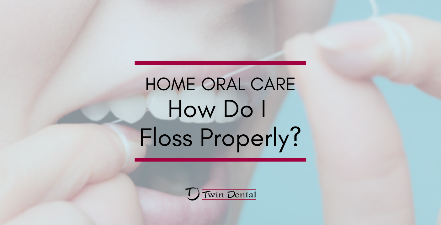 how to floss